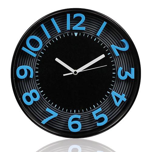 Orologio da ufficio 3d cm 30 blu for Ufficio blu
